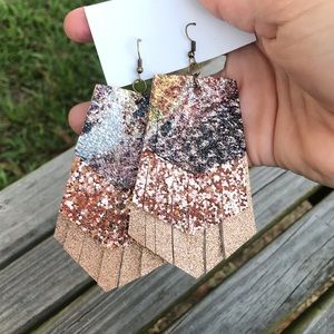 Jewelry - SOLD OUT ✨NEW✨Rose Gold Layered Earrings!